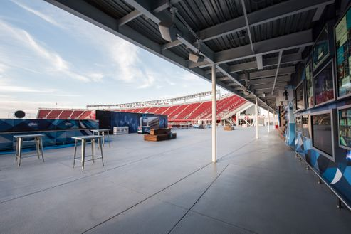 Image 1 for Bud Light Patio at Levi's Stadium