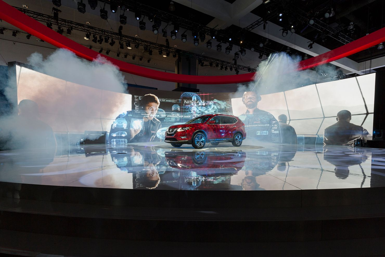 Image 1 for Nissan Rogue Launch at the Los Angeles Auto Show