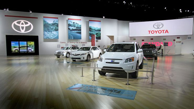 Image 1 for Toyota Multi-Touch Vision Wall 2011