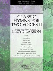 Classic Hymns for Two Voices II - Book & CD