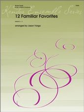 12 Familiar Favorites for Trumpet and Trombone