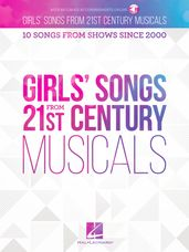 Girls' Songs from 21st Century Musicals - Book/ Online Audio