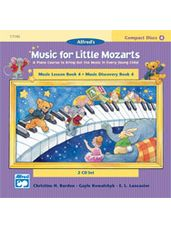 CD 2-Disk Sets for Lesson and Discovery Books, Level 4 Music for Little Mozarts