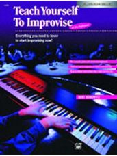 Alfred's Teach Yourself to Improvise at the Keyboard (Bk/CD)