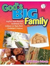 God's Big Family - Songbook with P/A CD