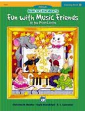Coloring Book 2 -- Fun with Music Friends at School Music for Little Mozarts