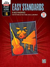 Alfred Jazz Easy Play-Along Series, Vol. 1: Easy Standards for Rhythm Section [Rhythm Section]