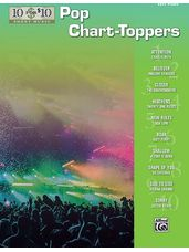 10 for 10 Sheet Music: Pop Chart-Toppers