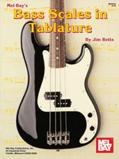 Bass Scales in Tablature