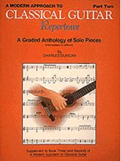 A Modern Approach to Classical Guitar Repertoire - Part 2 (Book Only)