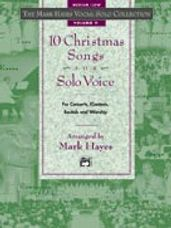 10 Christmas Songs for Solo Voice - Med Low CD Only