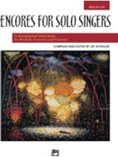 Encores for Solo Singers - Med Low Book
