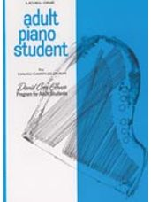 Adult Piano Student, Level 1  (Glover)