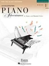 Accelerated Piano Adventures for the Older Beg Lesson 1