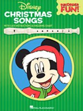 Disney Christmas Songs - Recorder