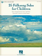 25 Folksong Solos for Children (Book/Audio Access)