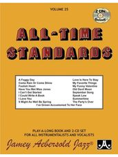 All-Time Standards - Jazz Play-Along Book and CDs